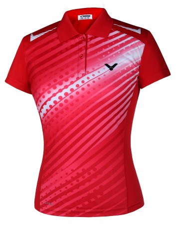 Victor Lady Polo Pearl red