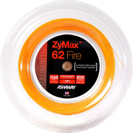 Ashaway ZyMax 62 Fire 200 Meter