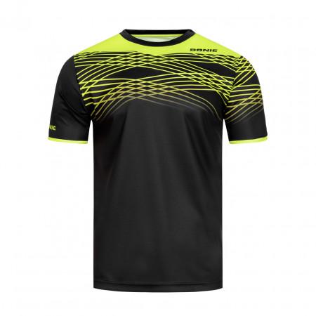 DONIC T-Shirt Clix Schwarz Vorderseite