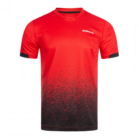 DONIC T-Shirt Split Rot Vorderseite