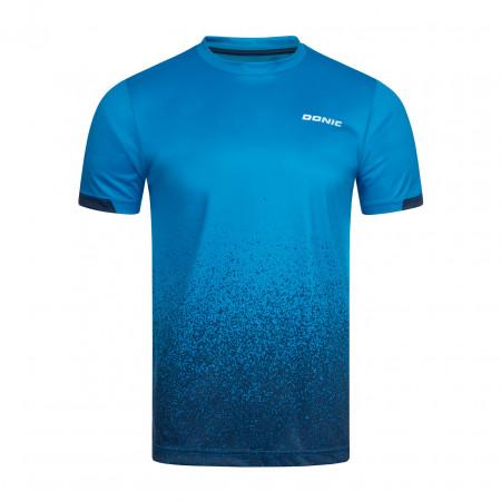 DONIC T-Shirt Split Blau Vorderseite