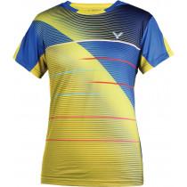 Victor Shirt Korea Female yellow 6206