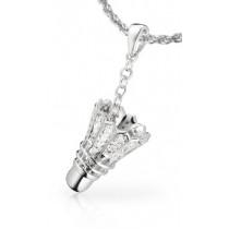 Schmuckanhänger Federball Diamond