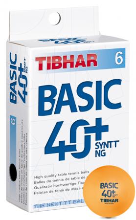 Tibhar Basic 40+ Syntt NG orange 6er Pack