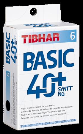 Tibhar Basic 40+ Syntt NG 6er Pack