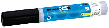 Andro 3-Sternball *** Speedball 3S 40+ cellfree weiss  9er Pack