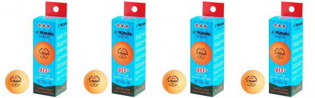 Nittaku Nexcell *** 40 + CELL FREE orange 12er Pack