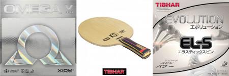 Tibhar Kinetic Speed ZC + Xiom Omega V + Evolution EL-S