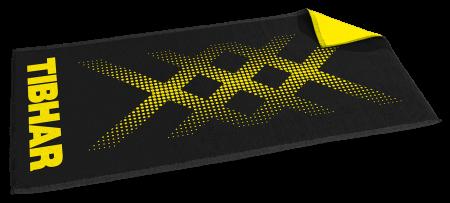 Tibhar Handtuch Triple X (schwarz / gelb)
