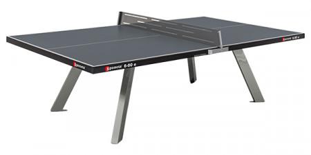 Sponeta Tischtennisplatte OUTDOOR S 6-80 e anthrazit