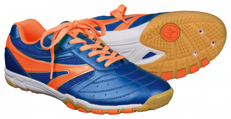 Tibhar Schuh BLUE THUNDER (blau/orange)