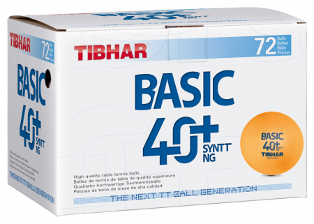 Tibhar Basic 40+ Syntt NG orange 72er-Pack