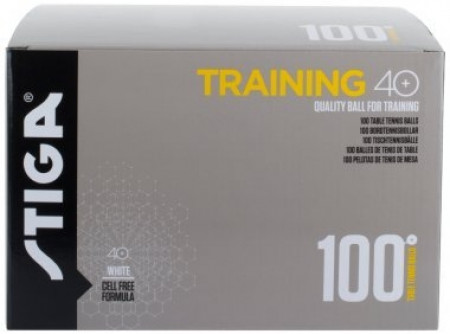 Stiga Training 40+ ABS Trainingsball 100er Pack