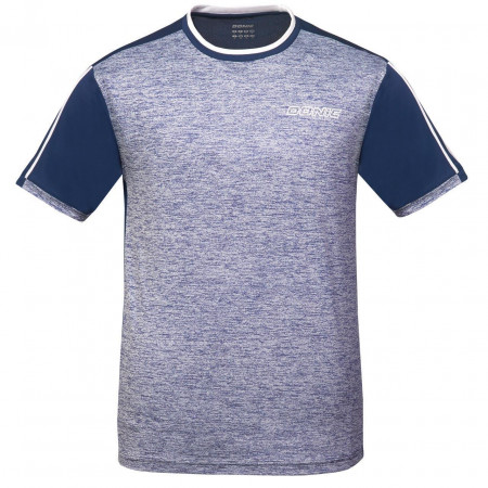 DONIC T-Shirt Melange Tee-melange blau