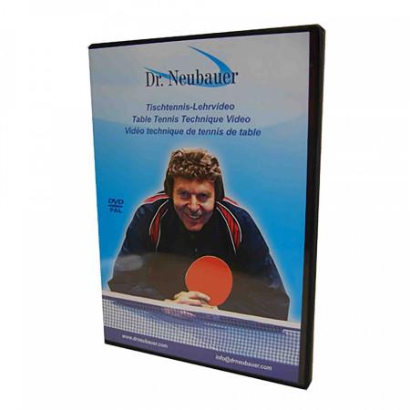 Dr. Neubauer DVD Lehrvideo Tischtennis Lang-Noppe, Kurz-Noppe, Anti-Top