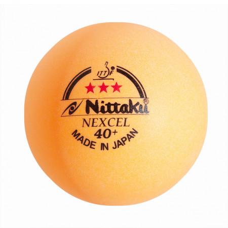 Nittaku Nexcell *** 40 + CELL FREE orange 120er Pack