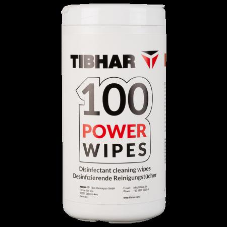 Tibhar 100 Power Wipes Reinigungstücher