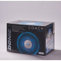 DONIC Coach P40+ Cell-Free   weiß  120er Packung