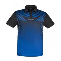 DONIC Polo BOOST blau / schwarz