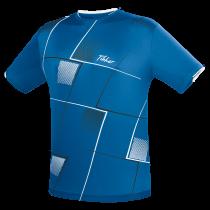 TIBHAR T-SHIRT CHECK - blue