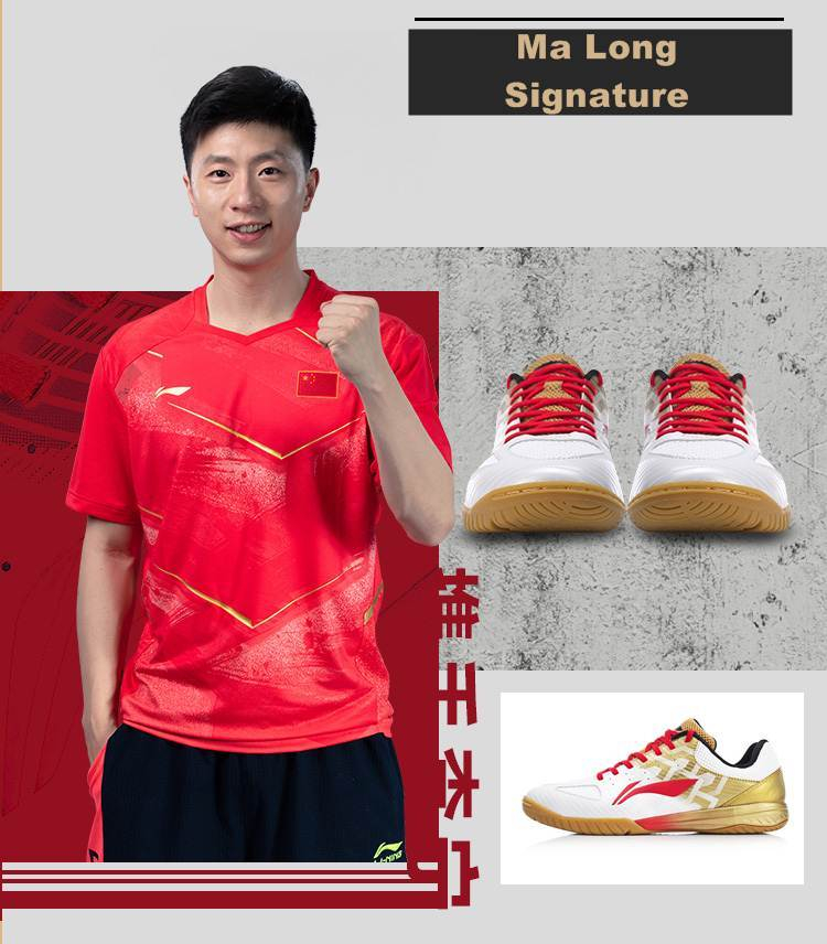 Li Ning Ma Largo Tt-Schuh Firma Modelo Tischtennisschuh Zapato Zapatillas para