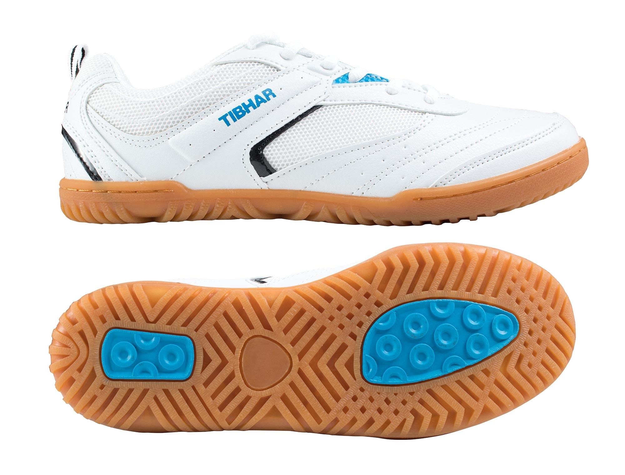 TIBHAR SUPER POWER  Tischtennis Schuh leicht Schuh Badminton Tischtennis Squash